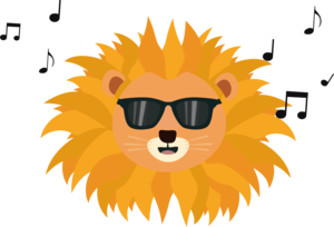 Cool Lion Head