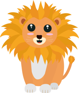 Cute Kawaii Lion