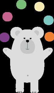 Polar Bear Juggling
