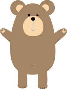 Happy Brown Bear