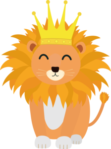 Lion With Crown King