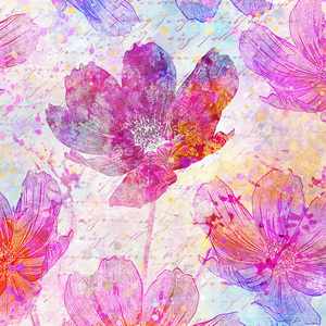Flower Modern Illustration