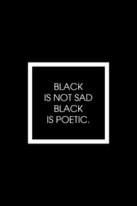 Black Is Poetic