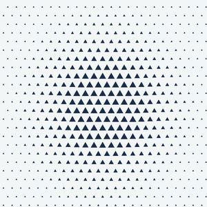 Triangle Pattern Optical Illusion