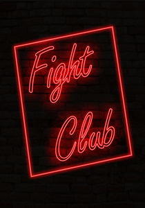 Fight Club Neon