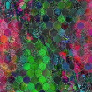 Colorful Geometric Hexagonal
