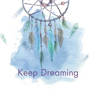 Dream Catcher Water Color Effect