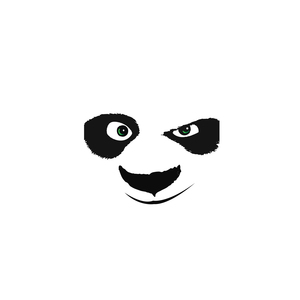 Kung Fu Panda Face