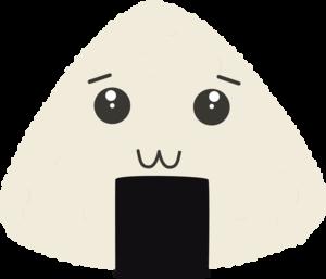 Kawaii Onigiri Rice Face