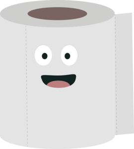 Toilet Paper With Face