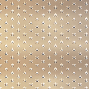 Gold Star Pattern