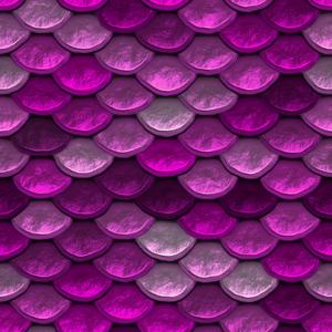 Mermaid Scale Pink Pattern