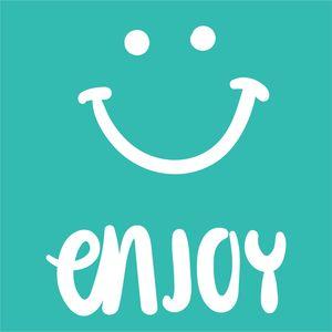 Enjoy With A Smiley Emoticon
