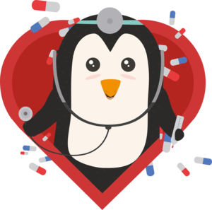 Penguin Doctor With Heart