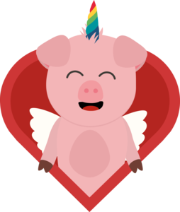 Unicorn Pig With Angelwings