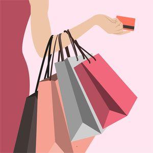 Shopping Lovers Art