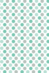 Green And Grey Circular Pattern
