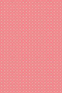 Polka Dots Pattern On Pink