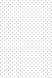 Polka Dots Pattern On White