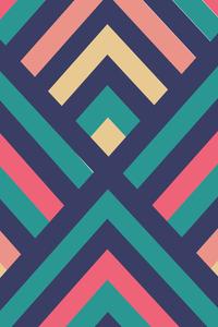 Multicolor Techno Pattern