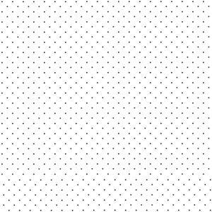 Small Black Polka Dots On White