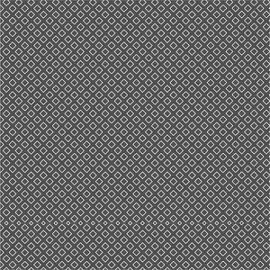 White Diamond Pattern On Black