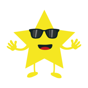 Star With Sunglasses