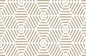 Hexagonal Line Art