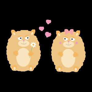 Hamsters In Love