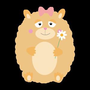 Fluffy Hamster 1