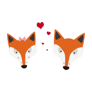 Fox In Love