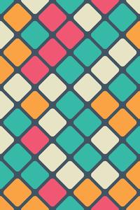 Multicolor Moroccan Tiles