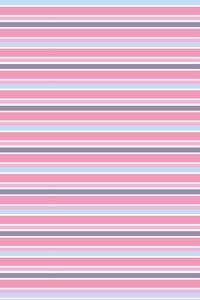Blue Pink Orange Stripes Pattern