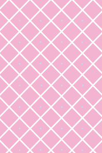 White Check Pattern On Pink