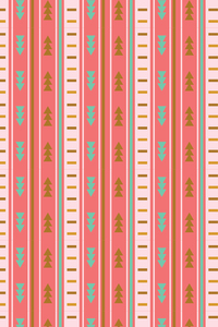 Pink Ethnic Aztec Pattern