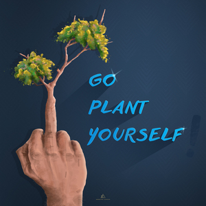 Go Plant Yourself Illustration