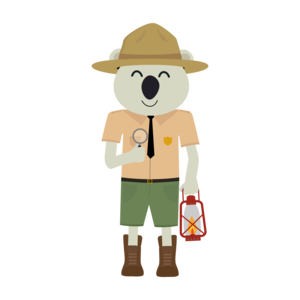 Koala Ranger With Hat