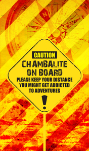 Chambalite On Board On Orange 2