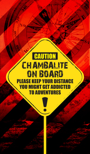 Chambalite On Board On Red 2