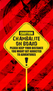 Chambalite On Board On Red 3