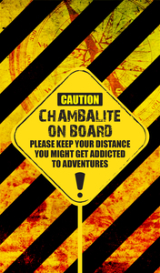 Chambalite On Board On Yellow