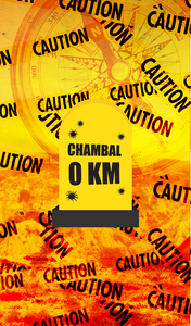 Chambal 0 KM Milestone On Orange