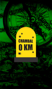 Chambal 0 KM Milestone On Green
