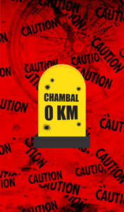 Chambal 0 KM Milestone On Red