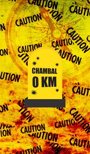 Chambal 0 KM Milestone On Yellow