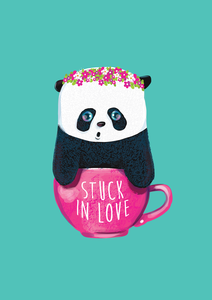 Panda Stuck In Love