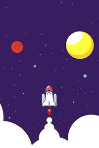 Rocket Launching In The Dark