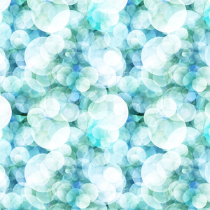 Blue Aqua Polka Dots Pattern