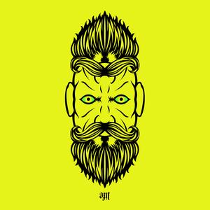 2 Beardiful On Yellow