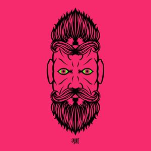 2 Beardiful On Pink